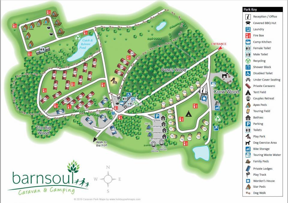Park Plan of Barnsoul 2019