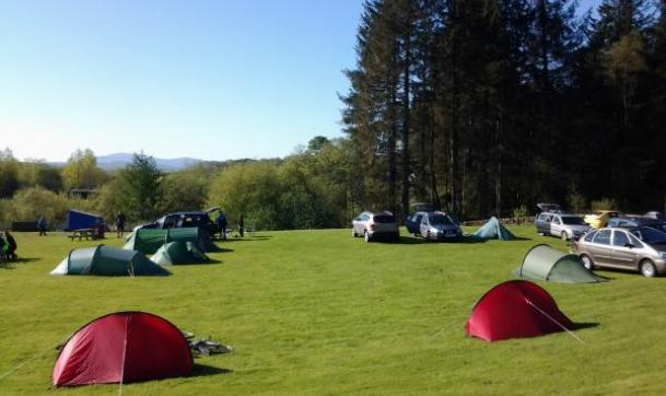 Touring Amp Tents Barnsoul Caravan Park
