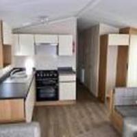 Kitchen in 2017 Willerby Peppy II static caravan