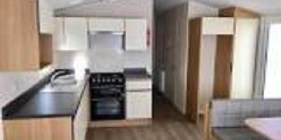 Kitchen in 2017 Willerby Peppy II static caravan